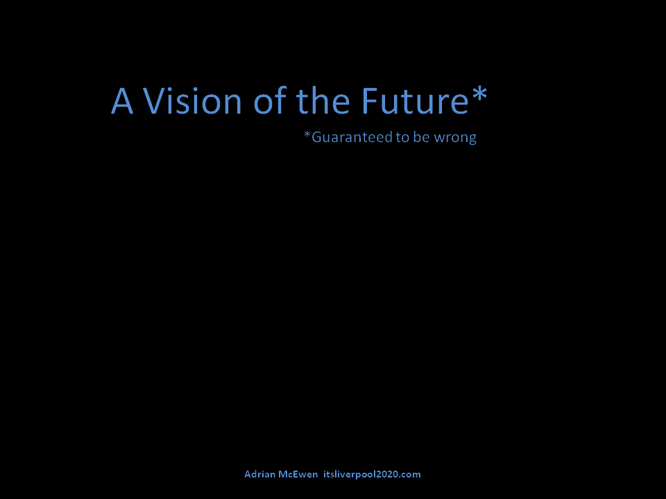 A vision of the future (guaranteed to be wrong)