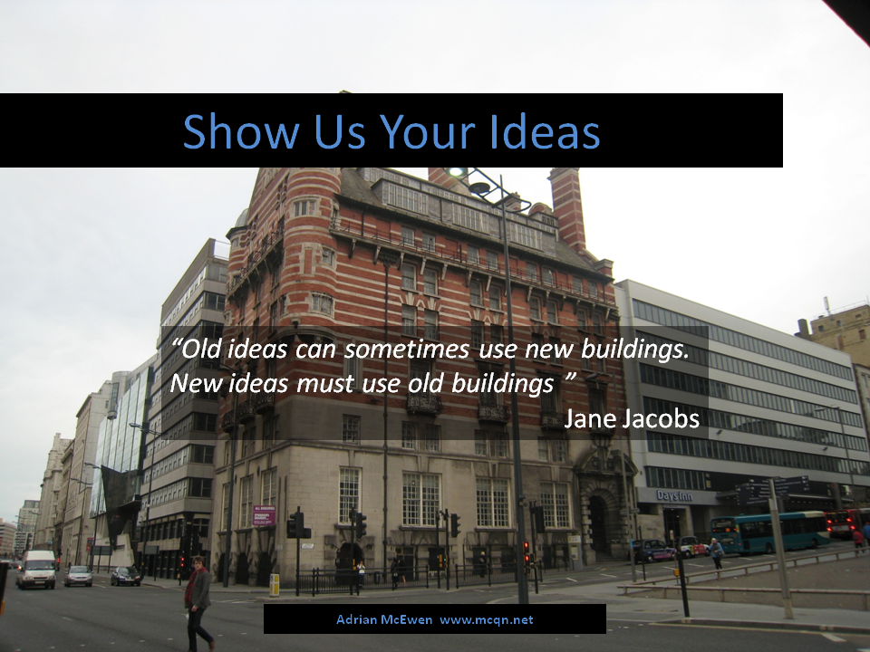 Show Us Your Ideas